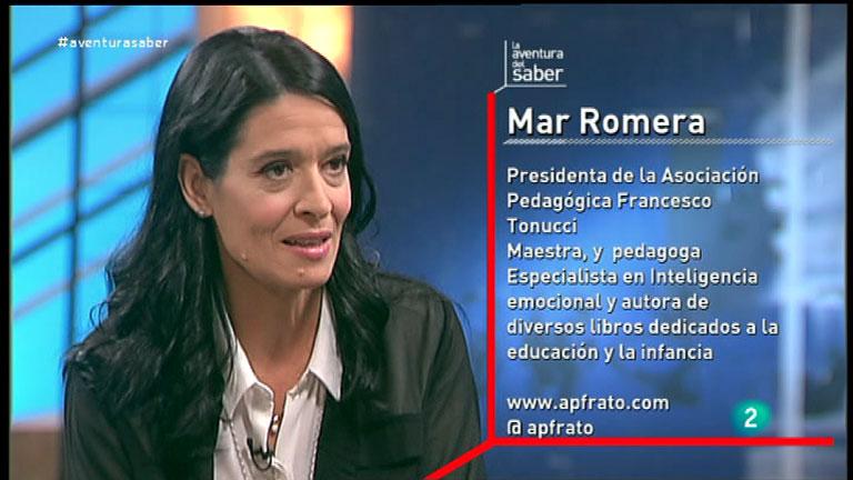 La Aventura del Saber. Mar Romera, Presidenta de la Asociacin Pedaggica Francesco Tonucci