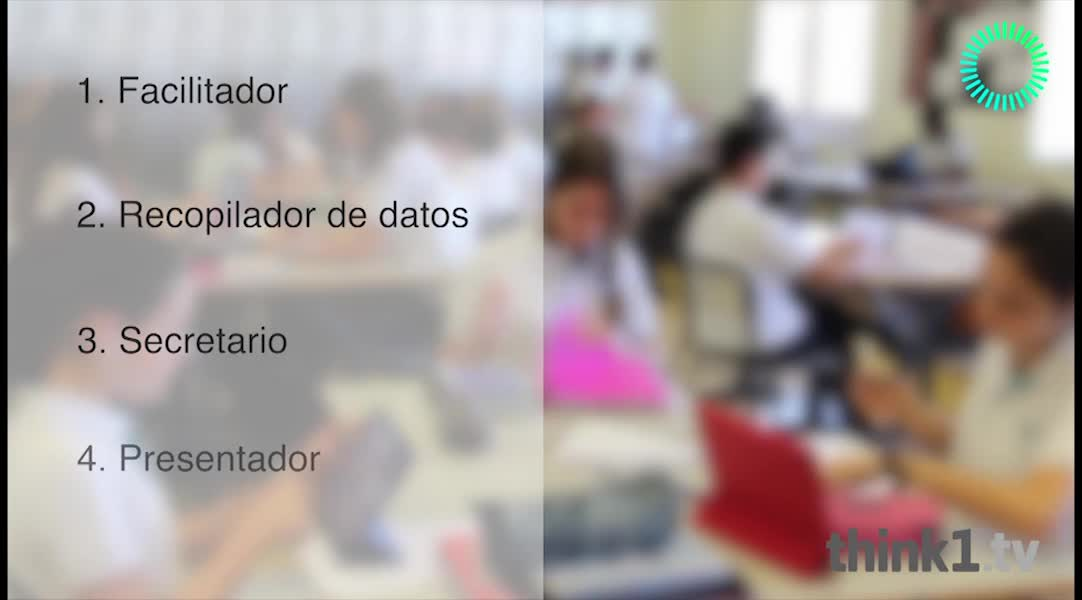 Video: Roles del trabajo cooperativo  Think1.tv